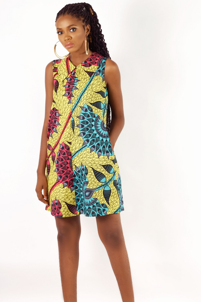 Shop Kuwala.co for the Pan Shift Dress by KIKI Clothing