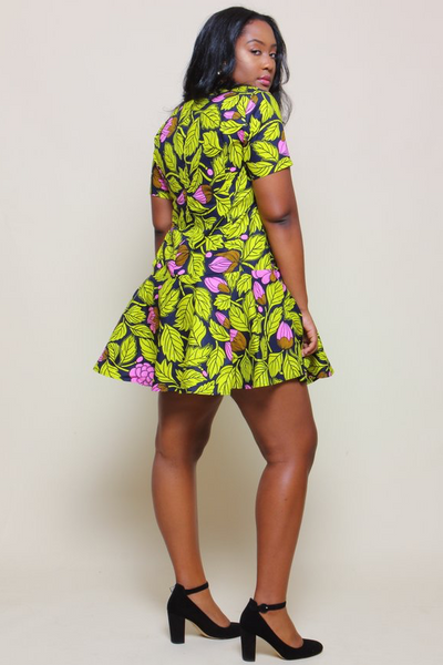 Shop Kuwala.co for the Renae Dress (Lemon) by suakoko betty
