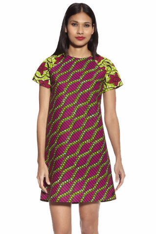 Shop Kuwala for the Shift Dress with Sleeves by KIKI Clothing