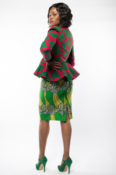 Shop Kuwala.co for the Subba Ankara jacket by Gitas Portal