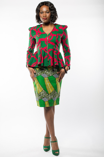 Shop Kuwala for the Subba Ankara jacket by Gitas Portal