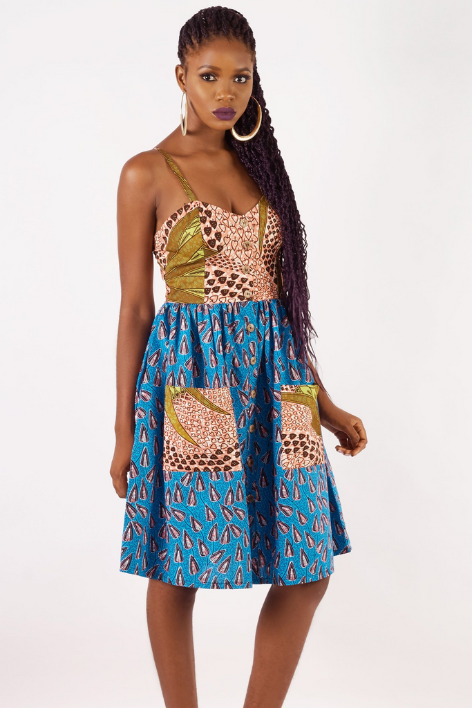 Shop Kuwala.co for the Summer Strap Dress by KIKI Clothing