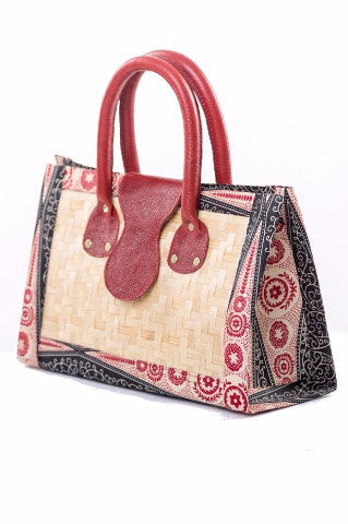 Shop Trekume Bamboo Handbag by Poqua Poqu at Kuwala