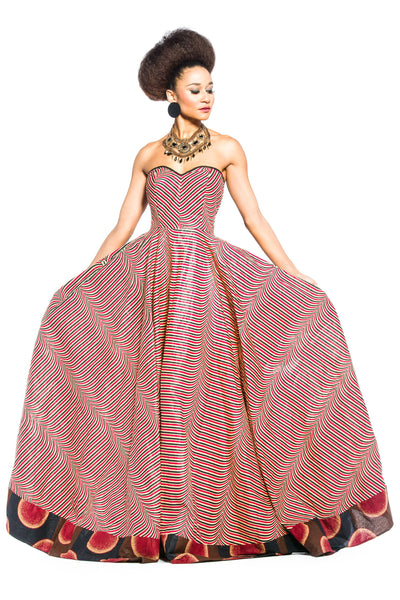 Shop Kuwala.co for the Nahtum Ball Gown by ZNAK DESIGNS