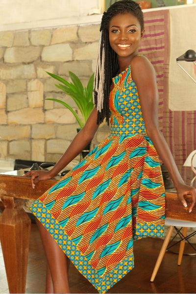 Shop Kuwala.co for the Summer Jaga Jaga Dress by KIKI Clothing