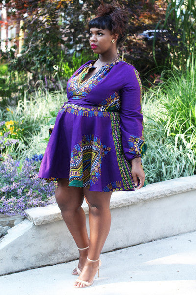 Shop at Kuwala for the Zhara Dress (Indigo Purple) by Asikere Afana - 2