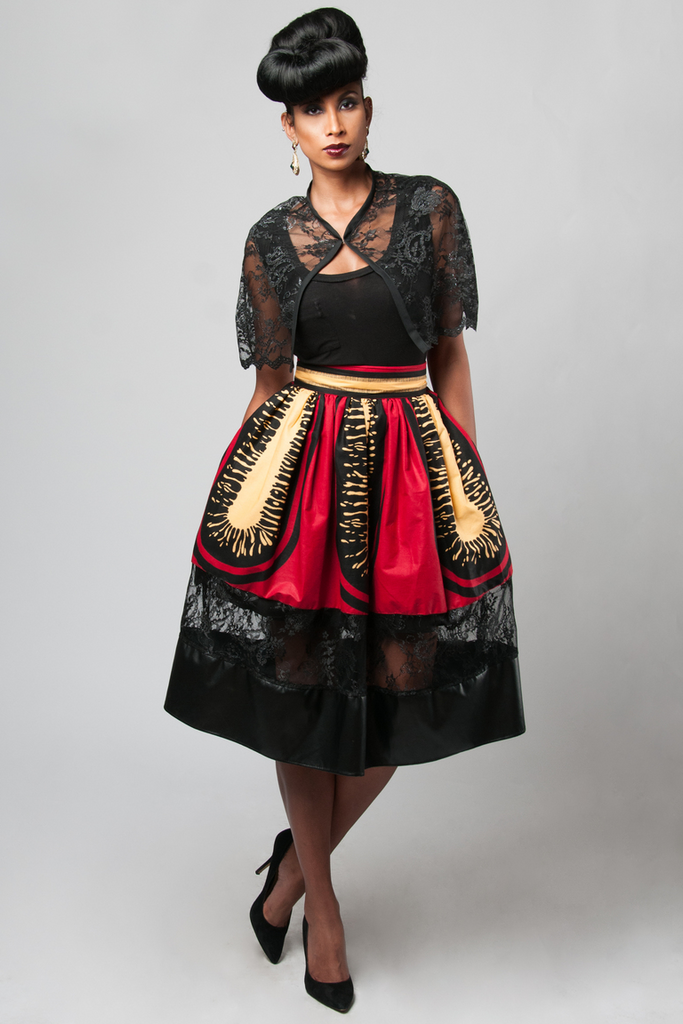 Shop Kuwala.co for the Zoe Bella Skirt by Kaela Kay