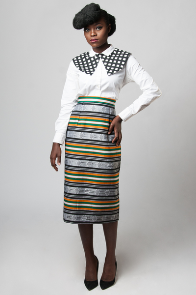 Shop Kuwala.co for the Zoya Pencil Skirt by Kaela Kay