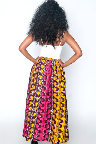 Shop Zulu Maxi Skirt by Poqua Poqu at Kuwala