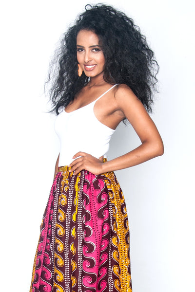 Shop Kuwala for the Zulu Maxi Skirt by Poqua Poqu