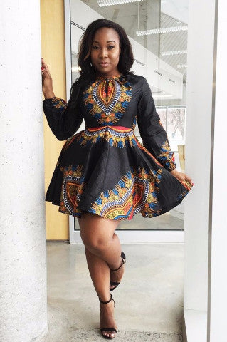 Shop at Kuwala for the Zhara Dress (Noir) by Asikere Afana - 3