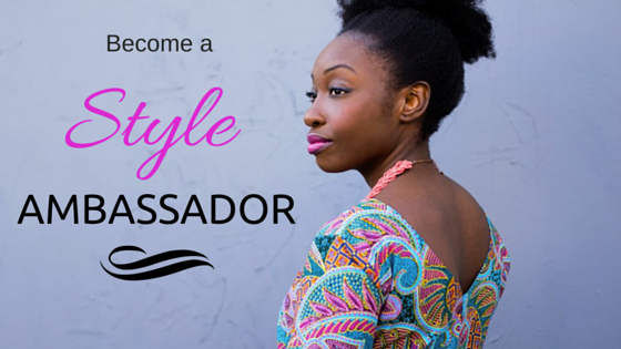 Become a style ambassador