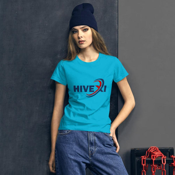 Women's short sleeve t-shirt - Hivexi