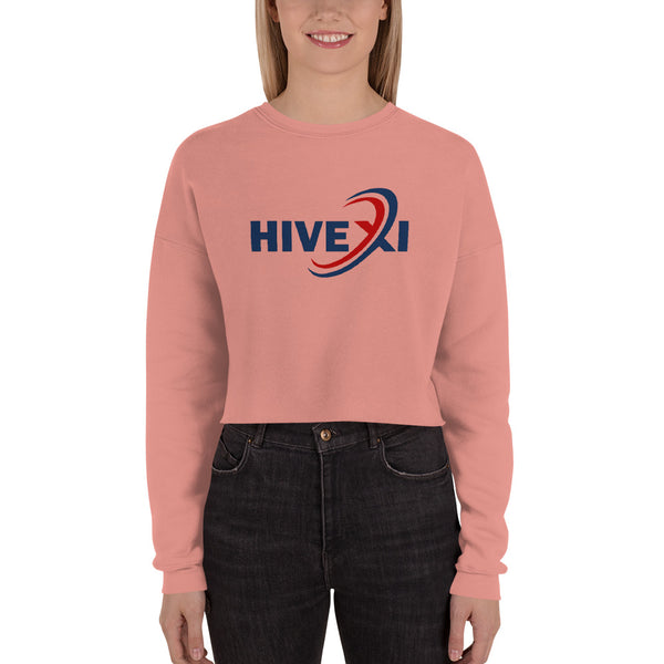Crop Sweatshirt - Hivexi