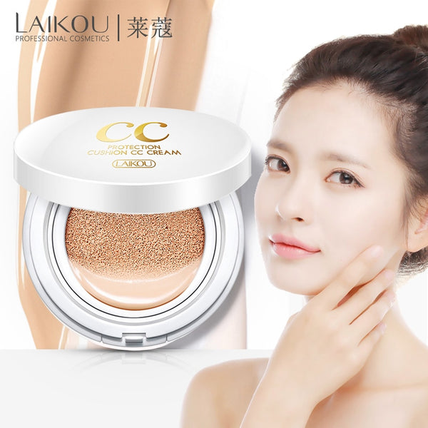Sunscreen Air Cushion BB CC Cream Concealer Moisturizing Foundation Whitening - Hivexi