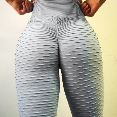 New Solid Sexy Push Up Legging for Women Fitness Clothing High Waist Pants - Hivexi