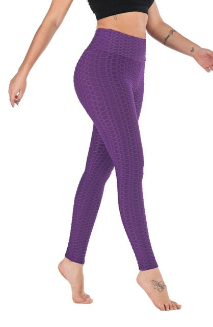 2020 New Fitness Anti Cellulite Textu Legging & pant - Hivexi