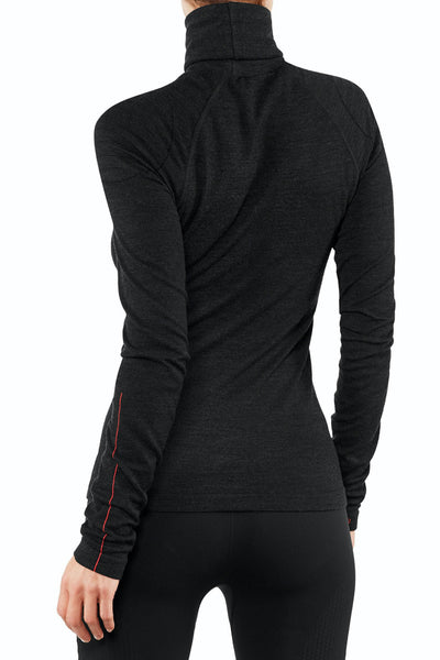 Falke Women Longsleeved Shirt Roll-neck