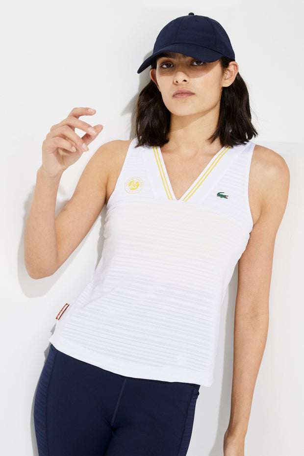 Women's Lacoste Sport French Open Edition Tank Top