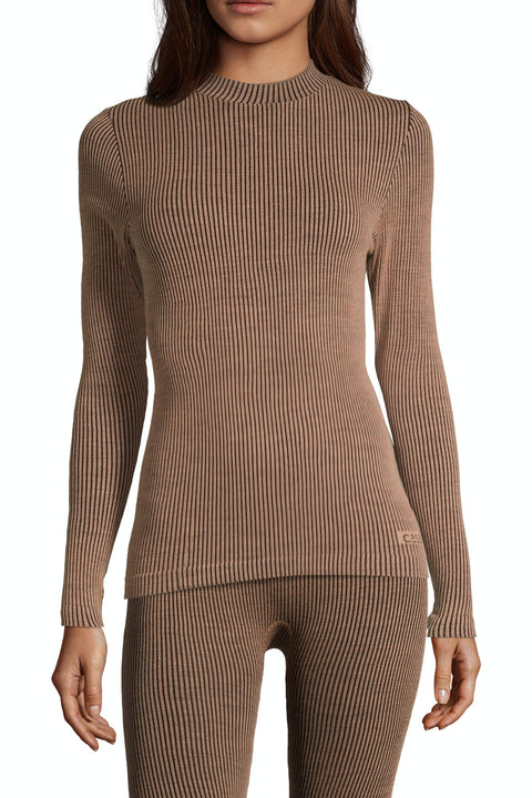 Wool Rib Long Sleeve