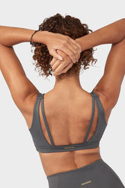 Manduka Presence Bra New Grey