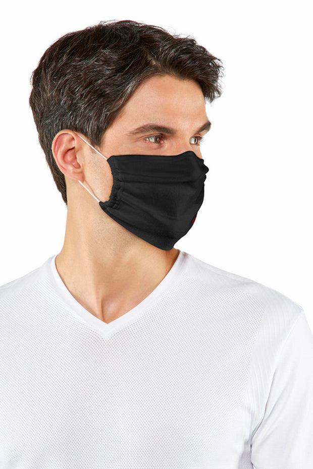 Falke 2-Pack Face Mask Black