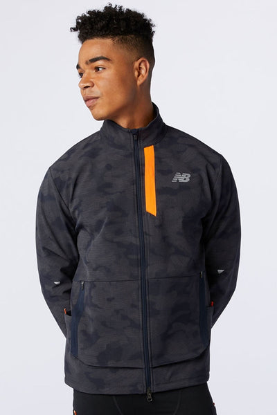 Reflective Impact Run Winter Jacket