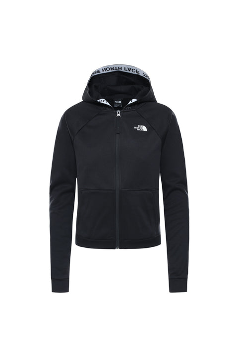 WOMEN'S TRAIN N LOGO FULL-ZIP HOODIE