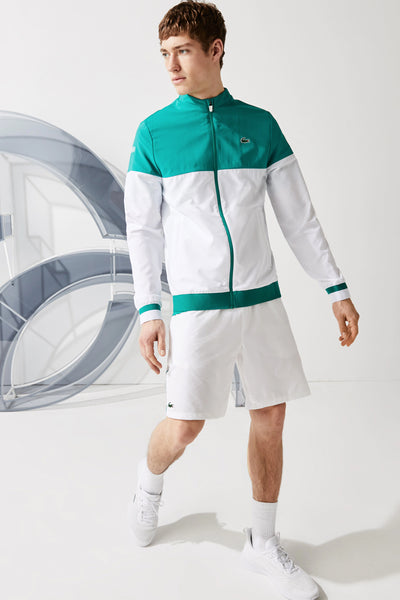 Men's Lacoste Sport x Novak Djokovic Colourblock Zip Jacket