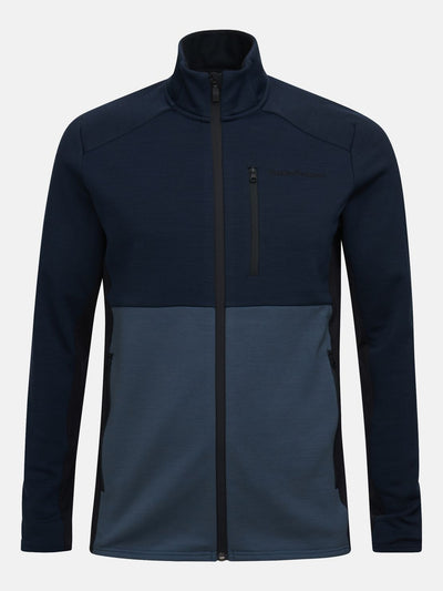 Peak Performance M Vertical Mid Zip Jacket