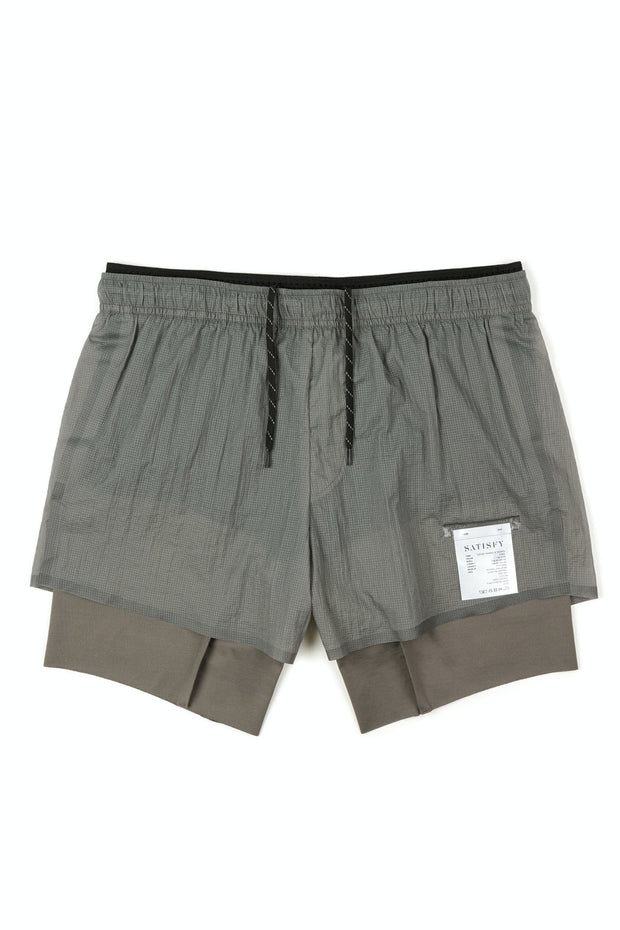 "Coffee Thermal Short Distance 8"" Shorts"