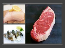 Load image into Gallery viewer, GRILL MASTERS SPECIAL- NY STEAK, HALIBUT, SHRIMP (serves 6-8)