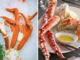 COLOSSAL KING CRAB LEGS AND SNOW CRAB LEGS