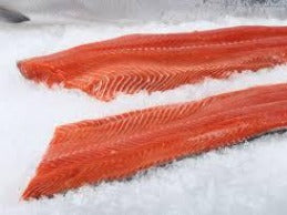 fresh fillet ocean steelhead