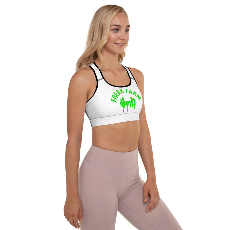 Padded Sports Bra - Freakfarmfitness