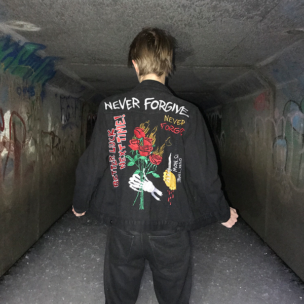 NEVER FORGIVE JACKET