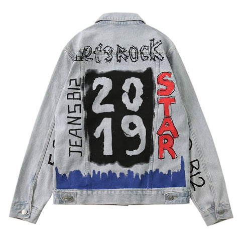 2019 NEW YEAR DENIM JACKET