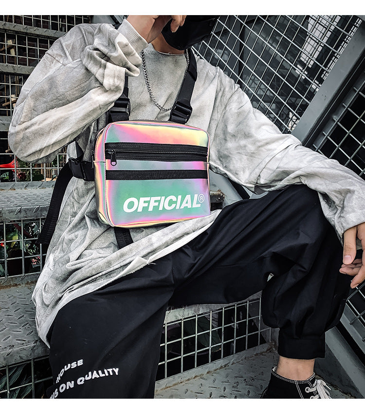 REFLECTIVE OFFICIAL CHEST BAG