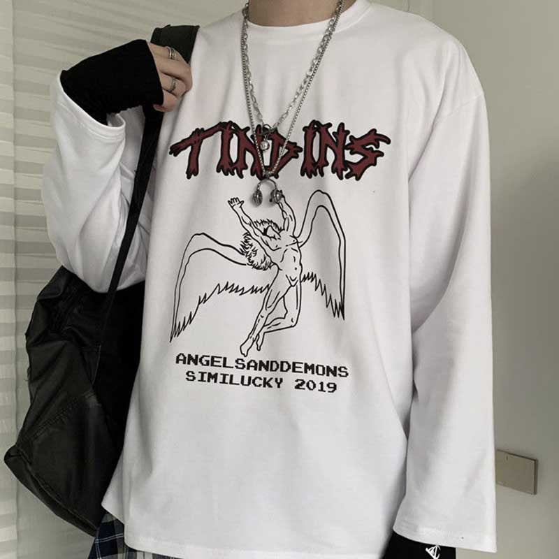 TINDINS ANGELSANDDEMONDS LONG SLEEVE