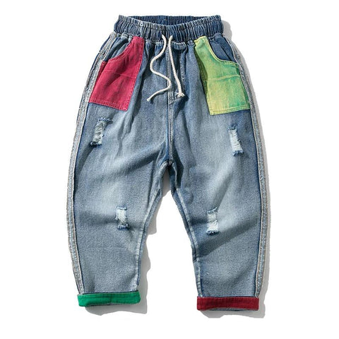 DENIM COLORFUL JEANS