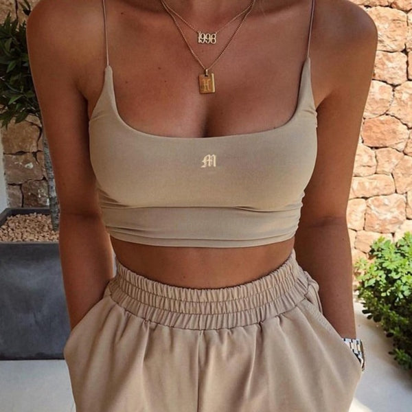 FITNESS CROPPED TOP
