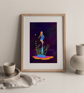 Lámina Decorativa- Ilustración de Ana Luna Illustration