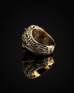 CAPO RING - Polished Brass