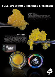 Live Resin 1G Concentrate by Heavy Hitters