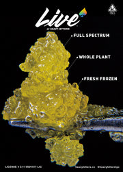 Live Resin Concentrate by Heavy Hitters