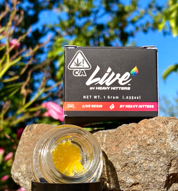 Freshest, Full Spectrum Live Resin Concentrate by Heavy Hitters