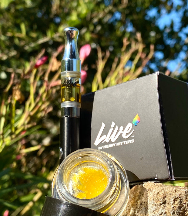 Full Spectrum 100% Live Resin 0.5G Vape