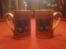 Load image into Gallery viewer, NBK Leather Mug
