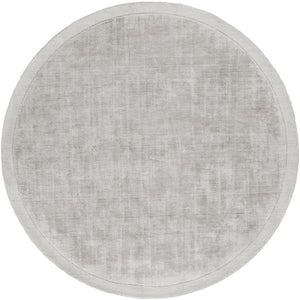 Alfombra Light Grey Round
