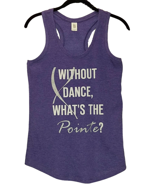 'What's the Pointe?' Racerback
